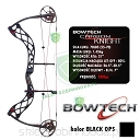 "Łuk BOWTECH Carbon KNIGHT 70# czarny matt 26.5-30.5"" BLACK OPS"