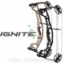 Łuk bloczkowy HOYT IGNITE Black out Czarny matt 70# RH